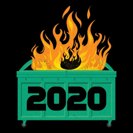 2020 Dumpster Fire - NeatoShop