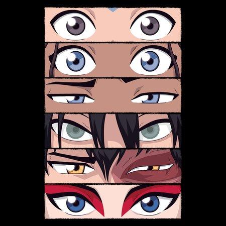 Avatar The Last Airbender Eyes