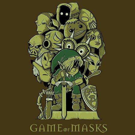 Game Of Masks T-Shirt thumbnail