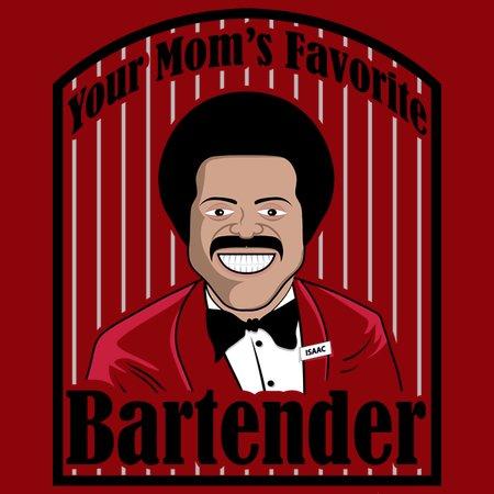 Your Mom's Favorite Bartender T-Shirt
