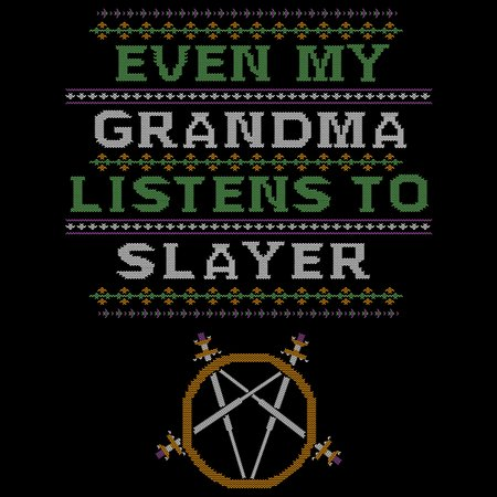 Even My Grandma Listens To Metal T-Shirt