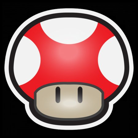 Mushroom-Red T-Shirt