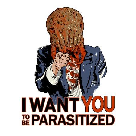 Parasitized. T-Shirt