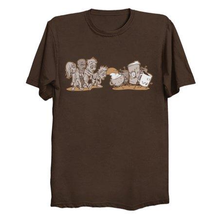 Waking Dead - Coffee Parody T-Shirts
