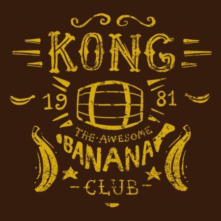 Kong Banana Club T-Shirt thumbnail