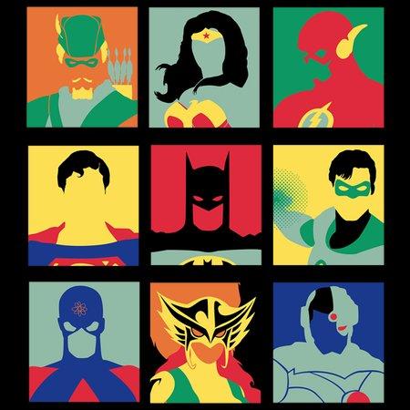 Justice Pop T-Shirt thumbnail