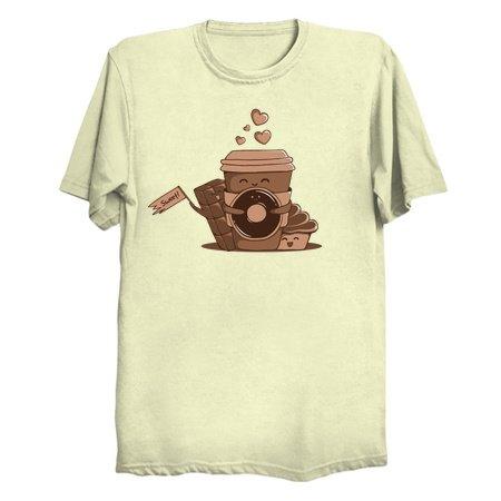 Caffeinated Love - Coffee Tees