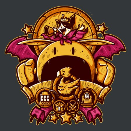 Saucer Crest T-Shirt
