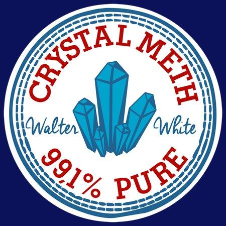 Crystal Meth Sneaker T-Shirt