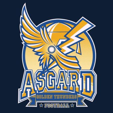 Golden Thunders Football T-Shirt