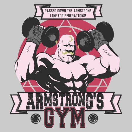 Armstrong's Gym T-Shirt