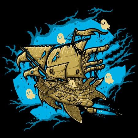 Ghost Spaceship T-Shirt