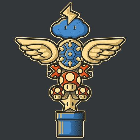 Kart Totem T-Shirt