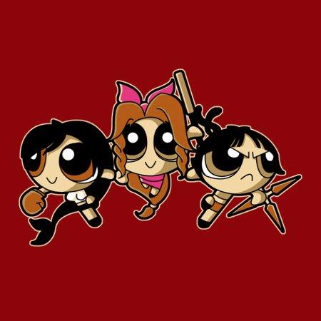 Power Fantasy Girls T-Shirt thumbnail