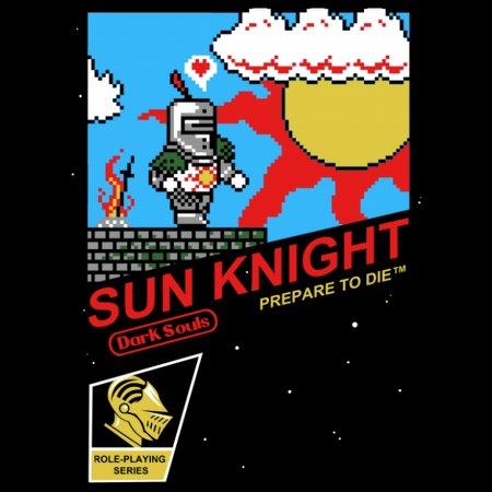 8-Bit Sun Knight T-Shirt