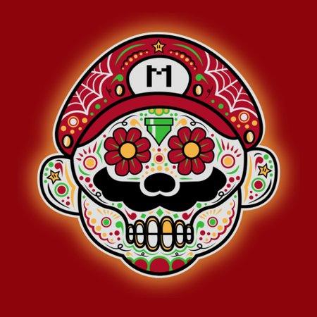Dia De Los Marios (Mario) T-Shirt