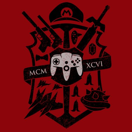 House Of 64 Crest T-Shirt