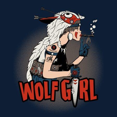 Wolf Girl T-Shirt thumbnail