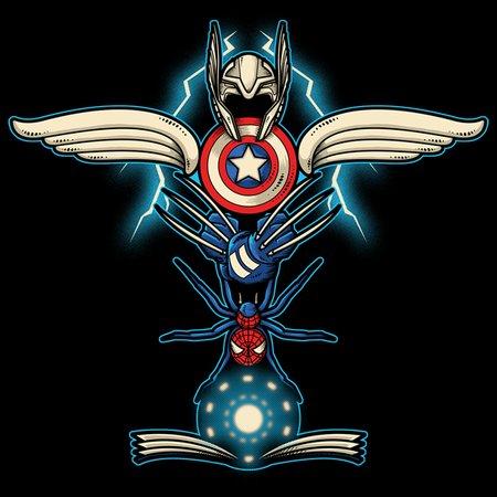 Heroes Totem T-Shirt