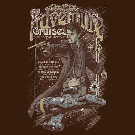Captain Mal's Adventure Cruises T-Shirt