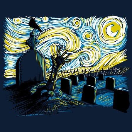 Starry Night Z T-Shirt thumbnail
