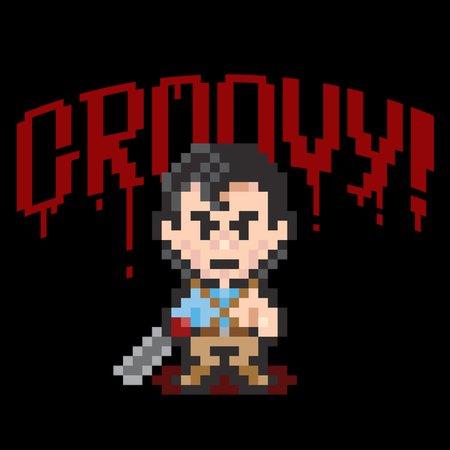 Evil Dead Pixels T-Shirt