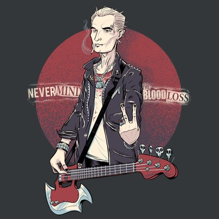 Spike – Nevermind The Blood Loss T-Shirt