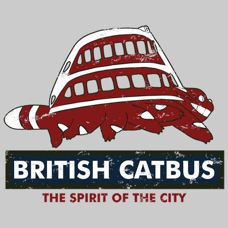 British Catbus T-Shirt thumbnail