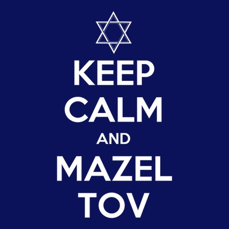 Keep Calm And Mazel Tov T-Shirt