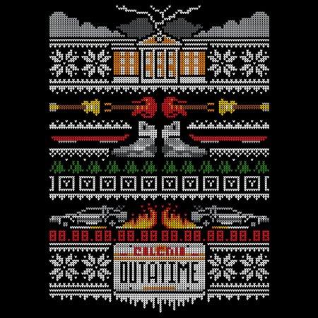 Back to the Future Christmas Sweater | Shirtigo