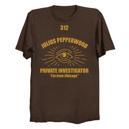 adf520098 Julius Pepperwood P.I.. T-Shirts ...