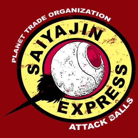 Saiyajin Express T-Shirt