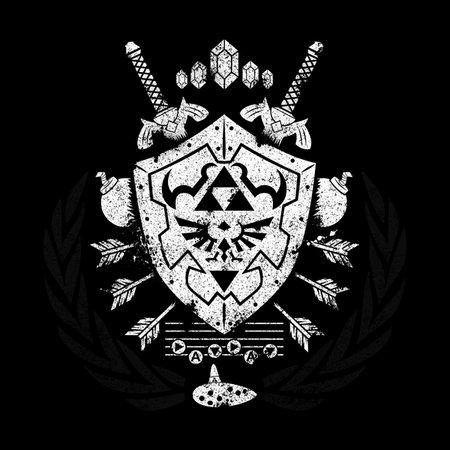 Hylian Crest T-Shirt thumbnail