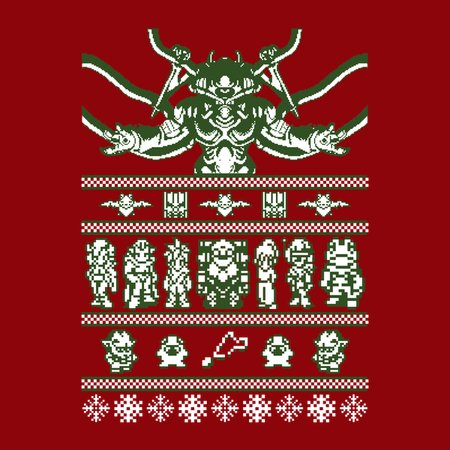 Chrono Christmas Sweater - NeatoShop