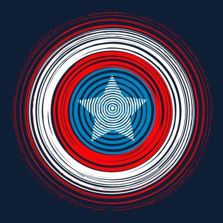 American Spiral T-Shirt