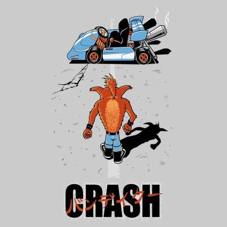 Crash Akira T-Shirt thumbnail