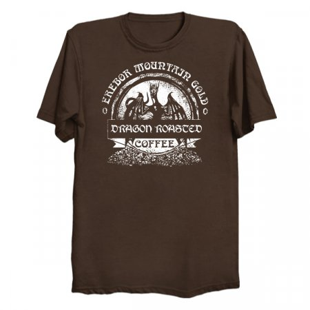 Erebor Mountain Gold Coffee T-Shirts