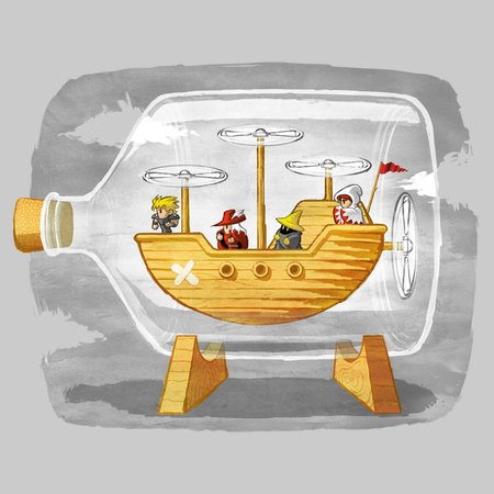 Airship in a Bottle
