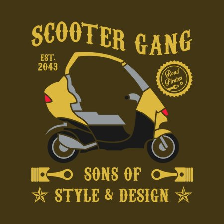 Scooter Gang T-Shirt