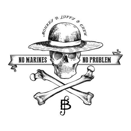 Vintage Straw Hat Pirates T-Shirt
