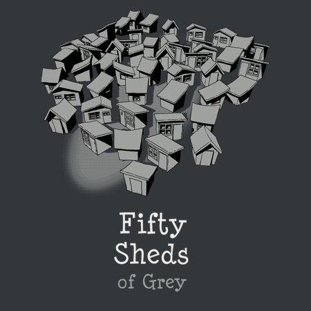 50 Sheds Of Grey T-Shirt