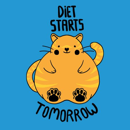 Diet Starts Tomorrow - NeatoShop