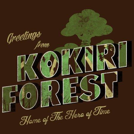 Kikiri Forest T-Shirt thumbnail