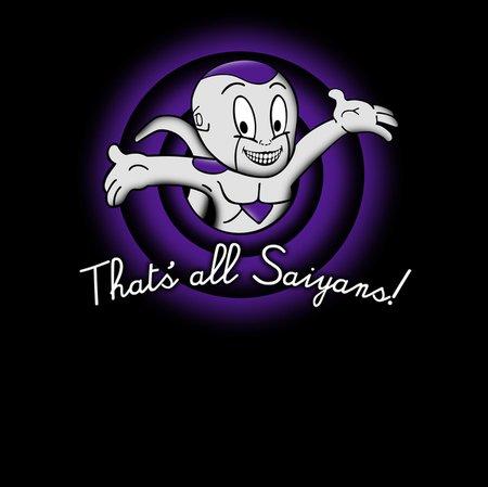 That's All Saiyans! T-Shirt