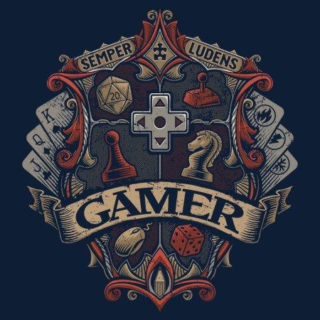 Gamer Crest T-Shirt