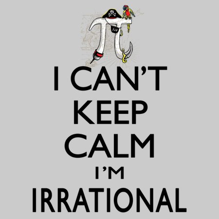 Irrational Pirate Pi Symbol Cant Keep Calm Neatoshop