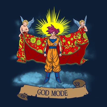Goku God Mode T-Shirt