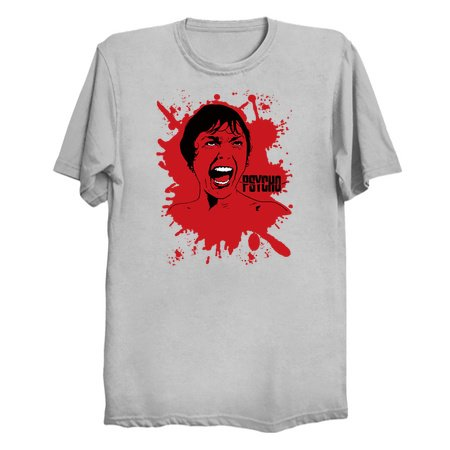 Psycho Scream - Classic Film Tees