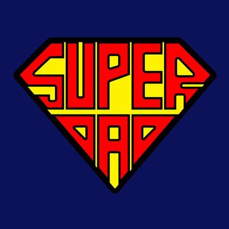 Superdad T Shirt The T Shirt Vault