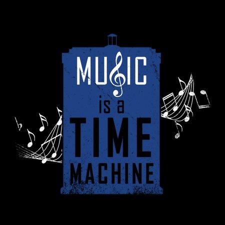 Music Is A Time Machine T-Shirt